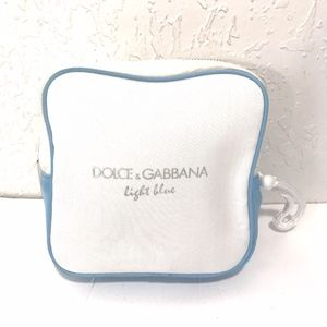 Dolce & Gabbana Light Blouse Square Pouch Bag